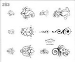 Surkov Tattoo Flash SET 2 / SHEET 3