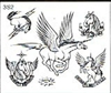 Surkov Tattoo Flash SET 3 / SHEET 2