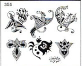 Surkov Tattoo Flash SET 3 / SHEET 5