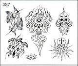 Surkov Tattoo Flash SET 3 / SHEET 7