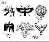 Surkov Tattoo Flash SET 3 / SHEET 8