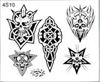 Surkov Tattoo Flash SET 4 / SHEET 10