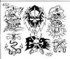 Surkov Tattoo Flash SET 4 / SHEET 2