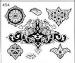 Surkov Tattoo Flash SET 4 / SHEET 4