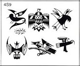 Surkov Tattoo Flash SET 4 / SHEET 9