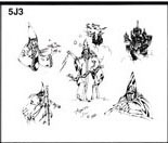 Apache Jil SET 5 / SHEET 3