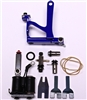 National Tattoo Supply Deluxe Aluminum Swing-Gate Tattoo Machine KIT