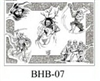 Henry Buro Black & White Flash SHEET 7