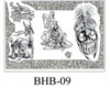 Henry Buro Black & White Flash SHEET 9