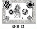 Henry Buro Black & White Flash SHEET 12