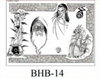 Henry Buro Black & White Flash SHEET 14
