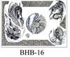 Henry Buro Black & White Flash SHEET 16
