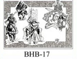 Henry Buro Black & White Flash SHEET 17