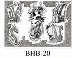 Henry Buro Black & White Flash SHEET 20