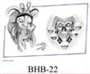 Henry Buro Black & White Flash SHEET 22