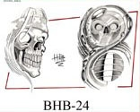Henry Buro Black & White Flash SHEET 24