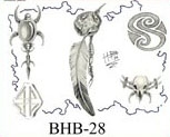 Henry Buro Black & White Flash SHEET 28