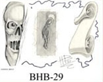 Henry Buro Black & White Flash SHEET 29