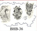 Henry Buro Black & White Flash SHEET 36