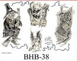 Henry Buro Black & White Flash SHEET 38