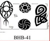 Henry Buro Black & White Flash SHEET 41