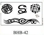 Henry Buro Black & White Flash SHEET 42