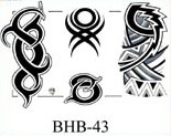 Henry Buro Black & White Flash SHEET 43