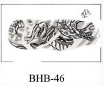 Henry Buro Black & White Flash SHEET 46