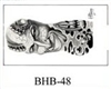Henry Buro Black & White Flash SHEET 48