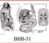 Henry Buro Black & White Flash SHEET 51