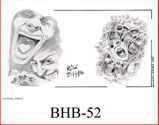 Henry Buro Black & White Flash SHEET 52