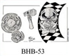 Henry Buro Black & White Flash SHEET 53