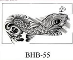 Henry Buro Black & White Flash SHEET 55