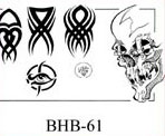 Henry Buro Black & White Flash SHEET 61