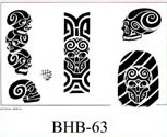 Henry Buro Black & White Flash SHEET 63