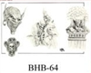 Henry Buro Black & White Flash SHEET 64