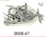 Henry Buro Black & White Flash SHEET 67