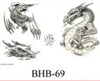 Henry Buro Black & White Flash SHEET 69