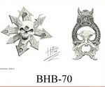 Henry Buro Black & White Flash SHEET 70