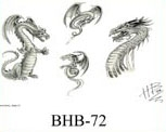 Henry Buro Black & White Flash SHEET 72