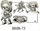 Henry Buro Black & White Flash SHEET 73