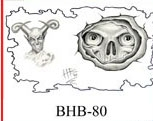 Henry Buro Black & White Flash SHEET 80