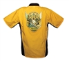 Yellow/Black National Tattoo Bowling Shirt XXX-LARGE