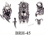Robert Hernandez Black & White Flash SHEET 45