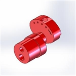 Dragonfly / Stingray Cam - 2.6mm Short Stroke, Smooth RED