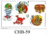Henry Buro Color Flash SHEET 59