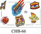 Henry Buro Color Flash SHEET 66