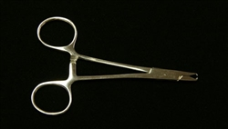 V-Notch Dermal Anchor Hemostat