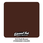 Eternal Tattoo Ink - Dark Brown  (1 oz)