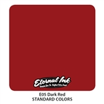 Eternal Tattoo Ink - Dark Red  (1 oz)